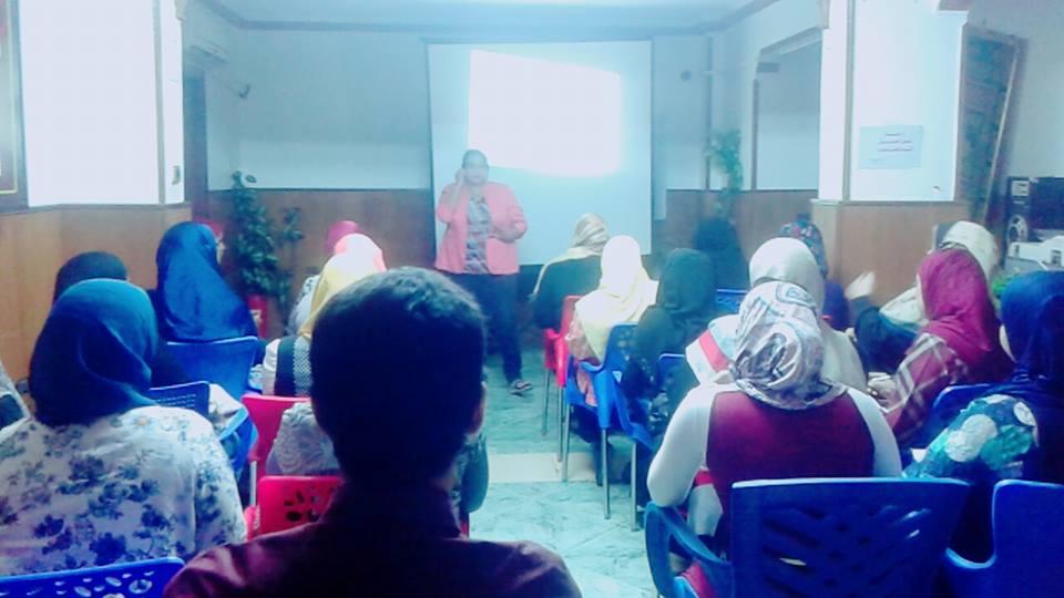 Photo of قامت المؤسسة دورة صعوبات تعلم للمدربة