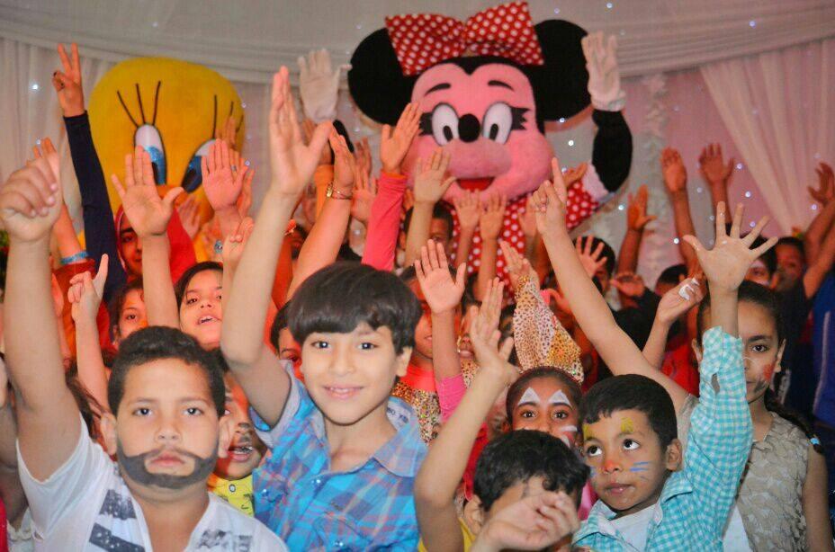 Photo of تحتفل المؤسسة بأطفال الصعيد وترسم البسمة على وجوههم