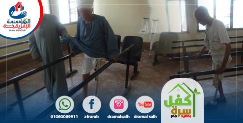 Photo of توفير طرف صناعى لمحمد ليرعى أبناؤه السبعة