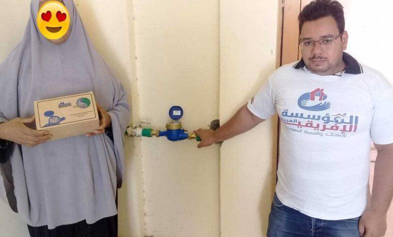 Photo of فمن هذا المنطلق قامت المؤسسه بتوصيل مرفق مياه